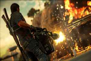 Just Cause 3 Explosion