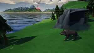 Valhalla Hills Wolf