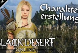 Black Desert Online Folge 00 Charaktererstellung