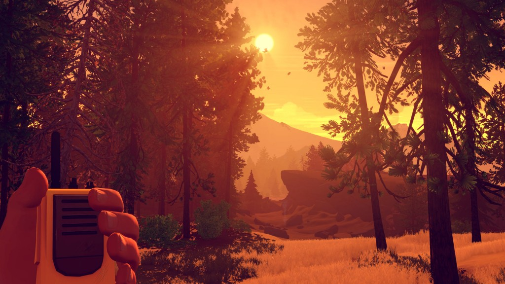 Firewatch - Grafik