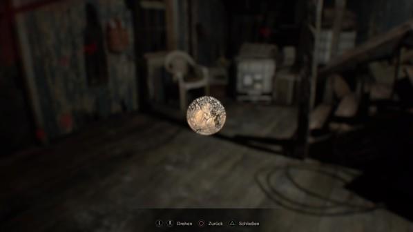 Resident Evil 7 Münze