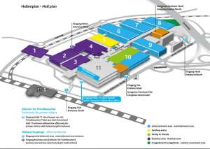 Gamescom 2017 Hallenplan Kölnmesse