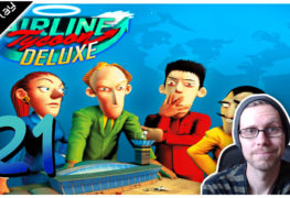 Airline Tycoon Deluxe Lets Play #21 LomDomSilver